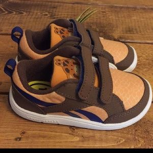 NIB! Baby Reebok Peek N' Fit Ortholite Sneakers